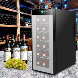 12 Bottle Thermoelectric Counter Top Wine Cellar Cooler/Chil