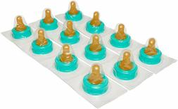 12 PACK OF Enfamil Slow Flow Soft Nipples - Latex-Free & BPA