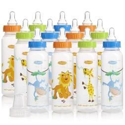12Pack Baby Bottles Set BPA Free Standard Infant Newborn For