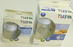 AVENT 2 PACK BABY BOTTLES 3M+ 11 OZ SIZE OR 4 0Z 0M+ LESS CO