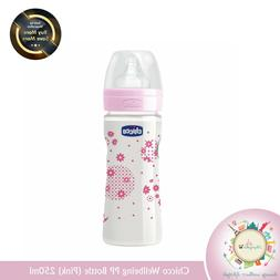 Chicco 250ml Wellbeing Pp Bottle  Free Worldwide Shipping