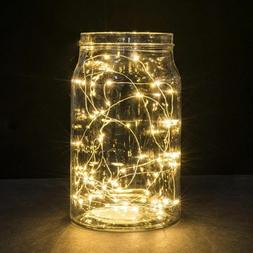 2m 20led Christmas Tree Decor Copper Wire String Light For G