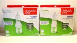 Playtex 3 Count  Baby Nurser Bottles w/15 Drop In Liners 4 o
