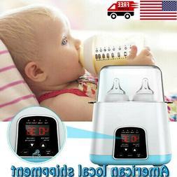 3-IN-1 Baby Bottle Warmer Steam Sterilizer Food Breastmilk H