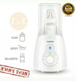 3 in 1 Baby Steam Sterilizer  Bottle Warmer Milk Food Heater