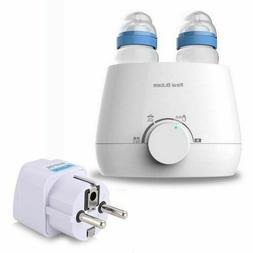 3-in-1 Electric Milk Baby Bottle Warmer Steam Sterilizer Dou