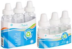 3 Pk Evenflo 4 oz or 8 oz Twist Classic Real Glass Baby Bott