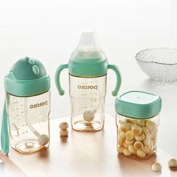 POTATO 3in1 Baby Bottle Square Cups Breast Feeding Bottle Cu