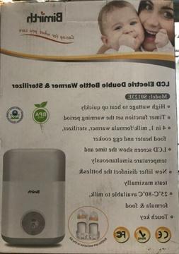 Bimirth 4 in 1 Double Baby Bottle Warmer, Sterilizer - s0123