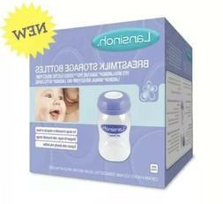 4 Pack Lansinoh 5 oz Breastmilk Storage Bottles - BPA BPS Fr