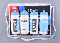 4 Pack of Tacx Shiva Bio Bottles 500ml Pro Team Cycling Wate