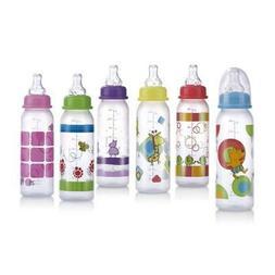 DDI 408780 Nuby? Non-Drip Baby Bottle 8 oz Case of 60