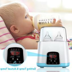 5 in 1 Baby Bottle Warmer Steam Sterilizer Portable Romote C