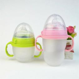 5 Pcs Baby Solid Anti-slip Bottle Handle Grip Feeding Bottle