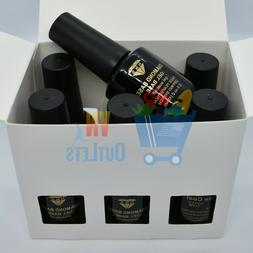 6 Bottles HNS Diamond Soak Off Gel Diamond Base Dip Base Gel