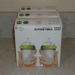6 Pack NEW ComoTomo Nautral Feel 8oz Bottle Green 8oz 250mL