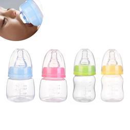 60ml 2oz Silicon Milk Juice Nursing Nipple Feeding Bottles B