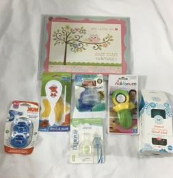 7 Piece Baby Accessories Lot, Baby Bottle, Pacifiers, Food F