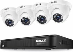 ZOSI H.265 2.0MP 1080P HDMI TVI DVR 1500TVL  Outdoor CCTV Se