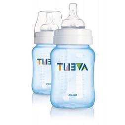 Avent Twin Bottle 260ml/9oz - Blue
