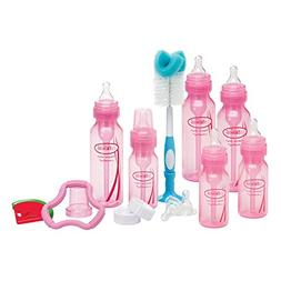 Dr. Browns Bottles Pink Set with Level 2 and Level 3 Nipples
