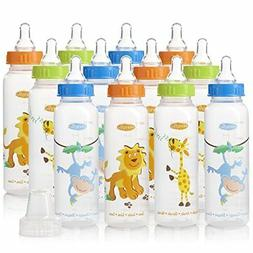 Evenflo Feeding Zoo Friends Polypropylene Bottles for Baby,