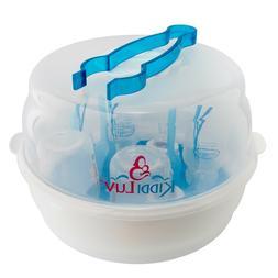 Kiddiluv Microwave Steam Sterilizer - Fits 6 Baby Bottles