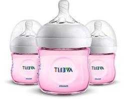 Philips Avent 4oz Natural Baby Bottles 3-Pack