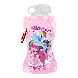 Vandor 42010 My Little Pony 12 oz Collapsible Water Bottle,