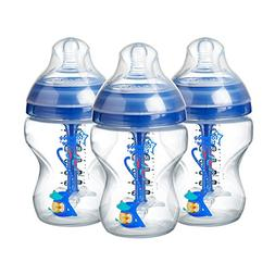 Tommee Tippee Advanced Anti-Colic Baby Bottle, Slow Flow Bre