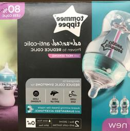 Tommee Tippee Advanced Anti-Colic, Feeding Baby Bottles, 9 O