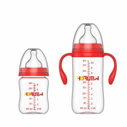 Anti-Colic Baby Bottles 6&10 OZ Baby Bottles for Girls Boys