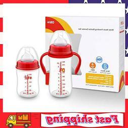 Anti-Colic Baby Bottles Newborn - 6&10 OZ for Girls and Boys