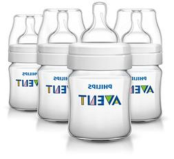 Philips Avent Anti-colic Baby Bottles 125ML/4oz, 4 Piece