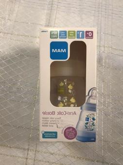 MAM  Anti Colic Newborn  Infant Feeding Baby Bottle Clear Bu