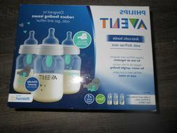 Avent Anti-Colic Plastic Assorted Clear Baby Bottle 9oz NEW