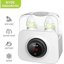 Bable Multifunctional 3-in-1 LCD Baby Bottle Warmer & Steam