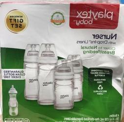 Playtex Baby Bottle Drop Ins Disposable Liners Closer to Bre