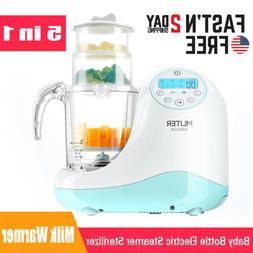 Baby Bottle Electric Steamer Sterilizer Dryer Machine Milk W