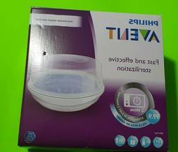 Philips AVENT Baby Bottle Microwave Steam Sterilizer,Bacteri