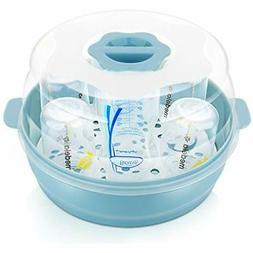 Baby Bottle Microwave Steam Sterilizer - Fit 6 Bottles