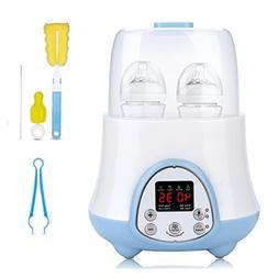 Baby Bottle Warmer ,Bottle Sterilizer 6-in-1 with Breast Mil