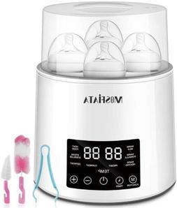 Baby Bottle Warmer and Sterilizer capacity for 4 bottles