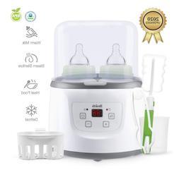 Baby Bottle Warmer Bottle Sterilizer Smart Portable Warmer &