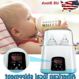 Baby Bottle Warmer & Sterilizer for Breastmilk High Temperat