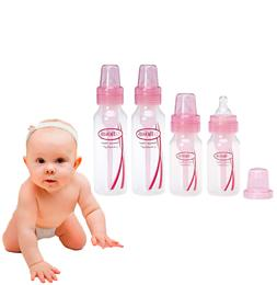 Baby Bottles for newborns Pink 2-8 & 2-4 oz BPA Free baby bo