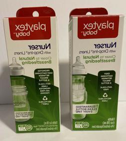 Playtex Baby Nurser Bottles with 5 Drop In Liners Each Bottl