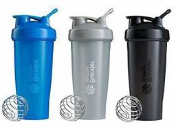 BlenderBottle Classic Loop Top Shaker Bottle 3-Pack 28 oz Co
