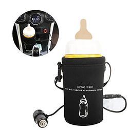 blue--net Travel Car Baby Bottle Warmer, 12v Universal Car T