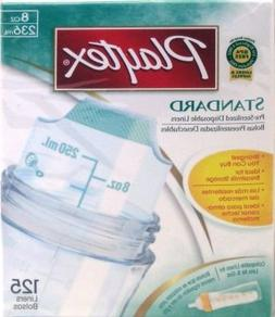 8oz Baby Bottle Disposable inserts, 125Ct